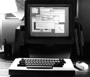 shows an Alto running Smalltalk. Smalltalk was also developedat Xerox ...