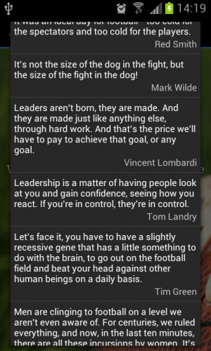 Football Quotes - screenshot