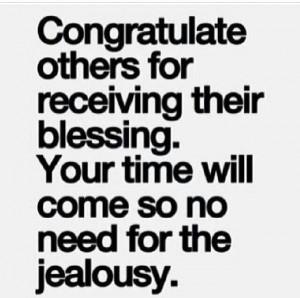 Don't be a jealous loser.