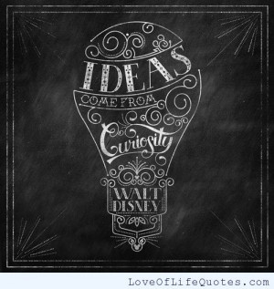 Walt Disney Inspirational Quote...