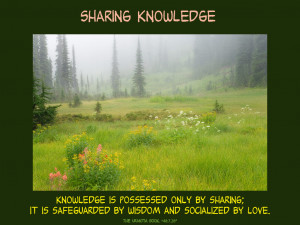 Quotes Knowledge Sharing ~ Inspirational Posters | Urantia Book ...