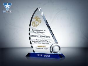 ... > Military Awards > Marine Corps > Marine Corps Retirement Gift
