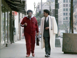 . Seen here from left, Billy Sparks as Billy and Morris Day as Morris ...