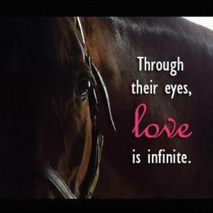 Through their eyes love is infinite