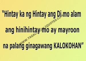 Tagalog Sad Quote For HIM - Tagalog Love Quote Paasa Lang