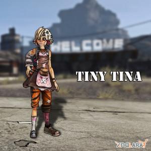 Tiny Tina from Borderlands 2