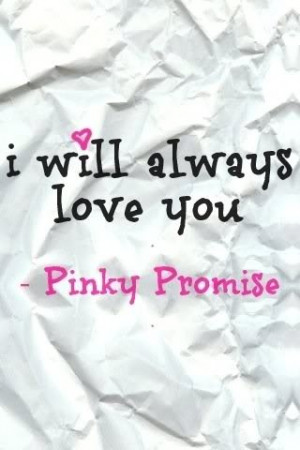Pinky promise Image