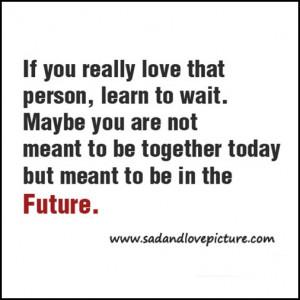 Future Love Quotes