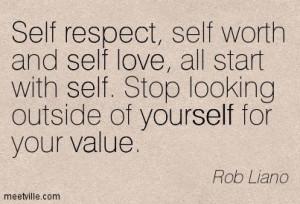 Funny Self-Esteem Quotes | … , love, self, value, yourself, respect ...