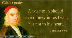 Jonathan Swift. Image Copyright - Ireland Calling