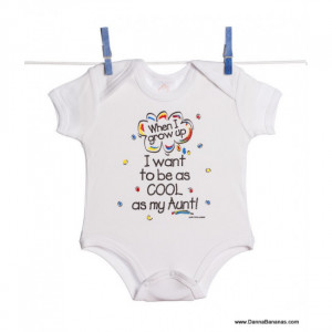 want to be as cool as my aunt baby bodysuit be the first to review ...