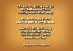 Spiritual Quote Inner Being
