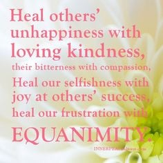 Equanimity Quotes H, Living Healthy, Positive Quotes, Motivation ...