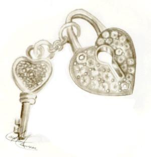 Heart Lock And Key Lmclawson