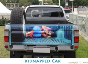 Funny Kidnapped Car