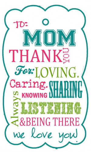 MOTHER'S DAY TAG PRINTABLE