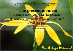Good Morning Wednesday quotes, Happiness and joy quotes