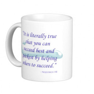 Helping Others Succeed Quote Mug – Vertical