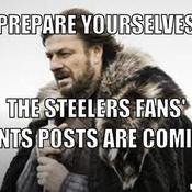 Prepare Yourselves The Steelers Fans Giants Posts Are Ing