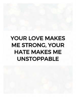 Love Quotes Hate Quotes Hater Quotes Motivational Quotes For Athletes ...