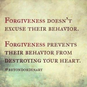 Friendship, forgiveness