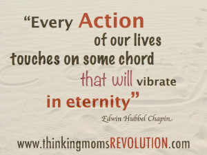 ... on some chord that will vibrate in eternity