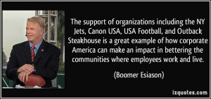 Great Football Quotes More boomer esiason quotes