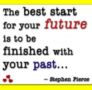 bye bye past... hello future