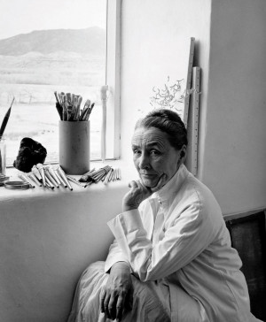 Georgia O'Keeffe was one of the most successful women artists in the ...