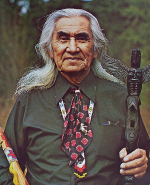 Chief Dan George in the The Outlaw Josey Wales. My favorite quotes ...