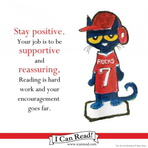 Pete the Cat on optimism.