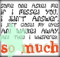 Displaying 16 Gt Images For Tumblr Quotes About Missing Someone