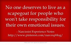 Sadly, not all addicts take responsibility. Blaming you, throwing you ...