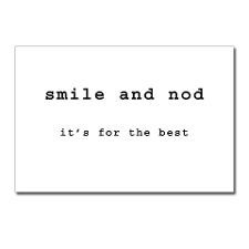 Cute Nerdy quotes Postcards (Package of 8)