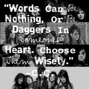Black Veil Brides Army Forever Christian Coma Quote