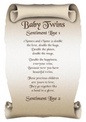 Twins Poems