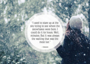 25 Great Quotes About Snow