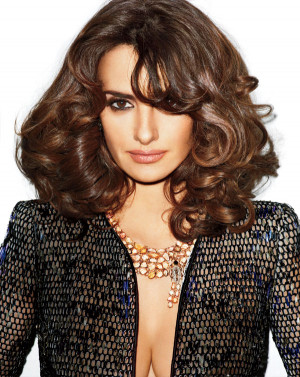 Penelope Cruz, 37, is on the cover and featured in the May issue of ...