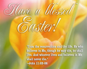 ... Meaningful Happy Easter Quotes From The Bible For Everybody To