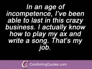 Billy Joel Sayings