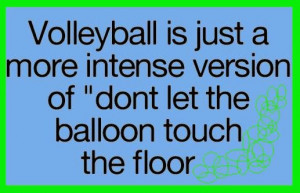 Funny Volleyball Quotes for Instagram