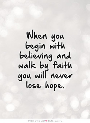 Believing Quotes