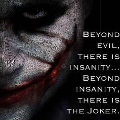 Word Collage of The Joker done by Heath Ledger in The Dark Knight More