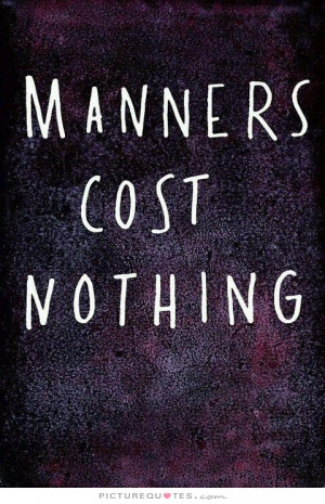 good manners quotes good manners books