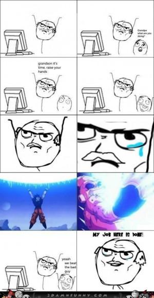 Dragon Ball Vegeta Funny Memes