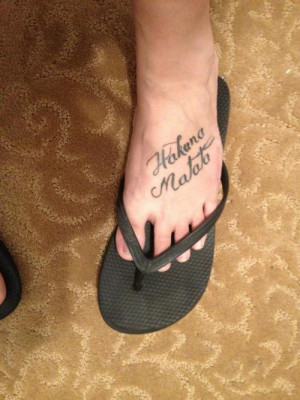 Disney Lion King Tattoos Lion King Quote Tattoos