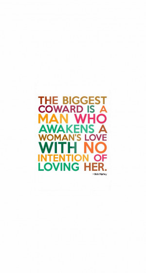 Bob Marley Quotes About Women