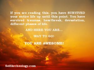 Survival Quotes Survival