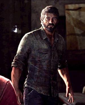 Joel-- The Last of Us.