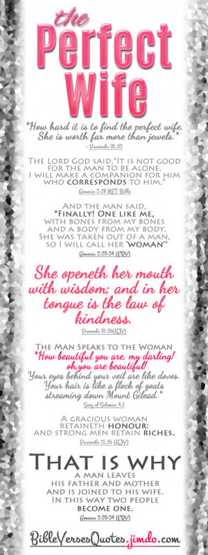 Bible Quotes About Women